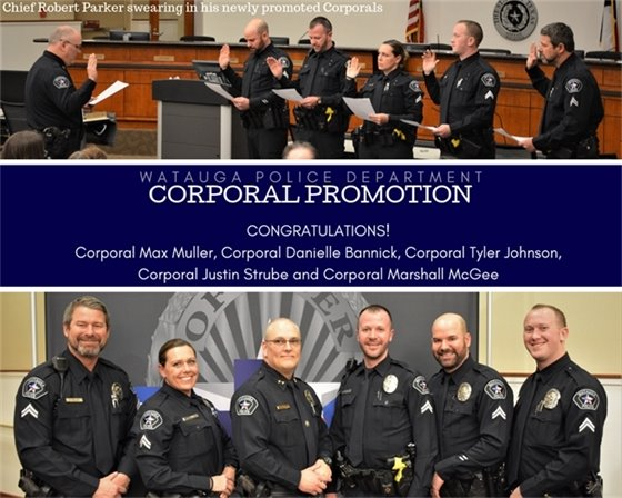 Corporal Promotion