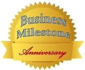 Business Milestone Anniversary