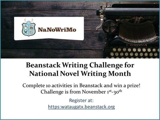 Nationl Novel Writing Month
