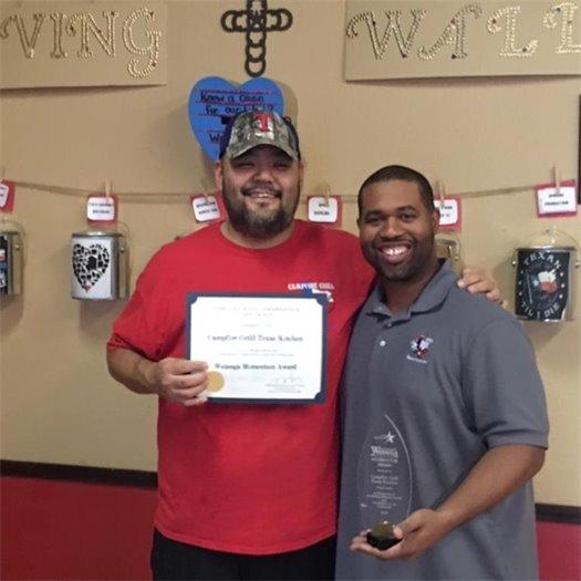 Camp Fire Grill Award