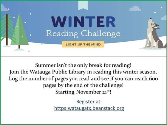 Winter Reading Challange
