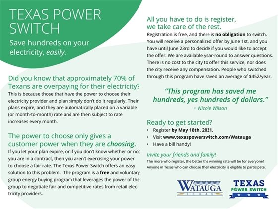 Texas Power Switch