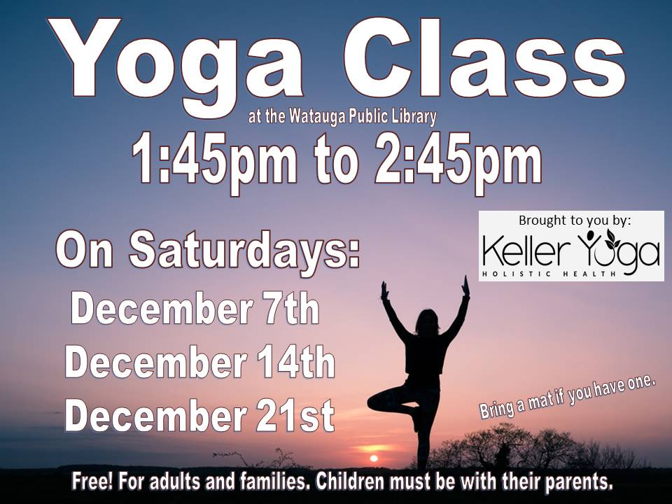 Yoga Dec 2019 keller yoga
