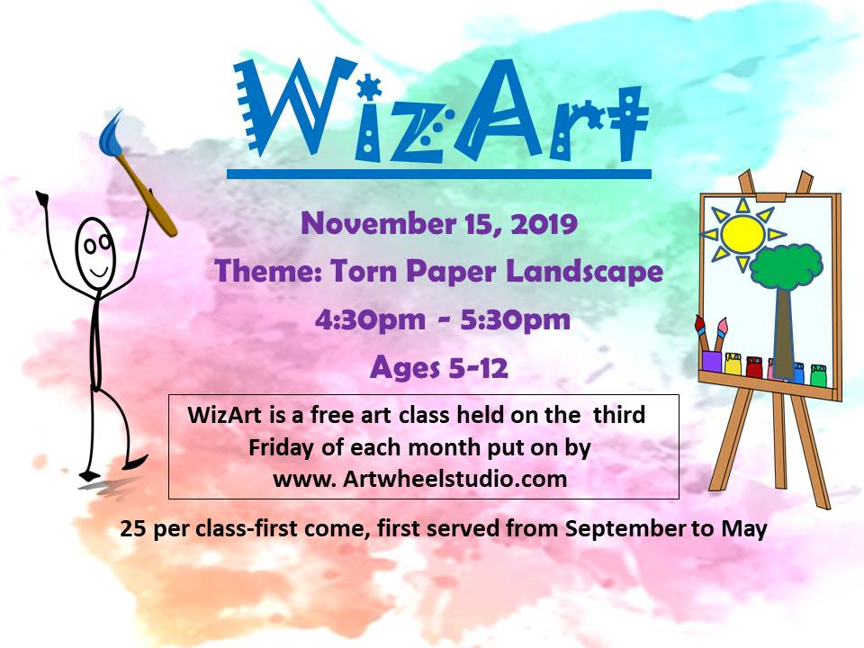 2019 WizArt Flyer November
