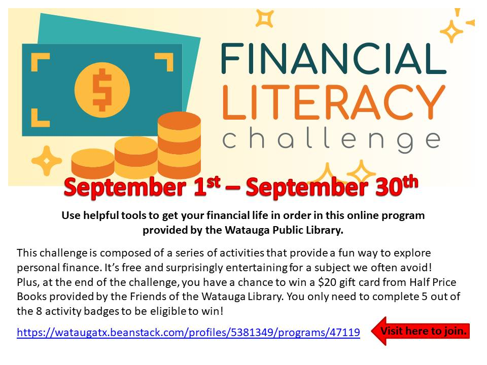 Financial Literacy challenge fall 2020