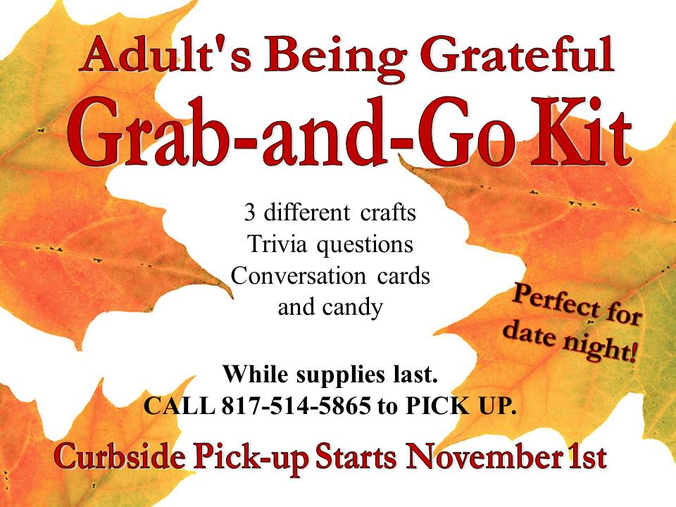 adult Grab and Go Nov 2020