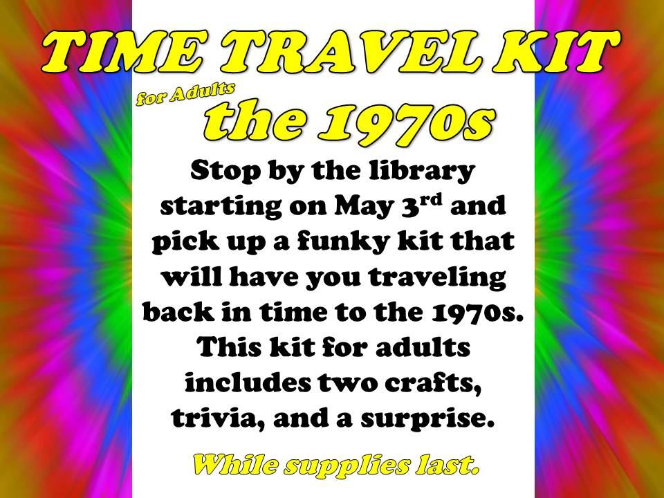 adult Time Travel Kit 1970s