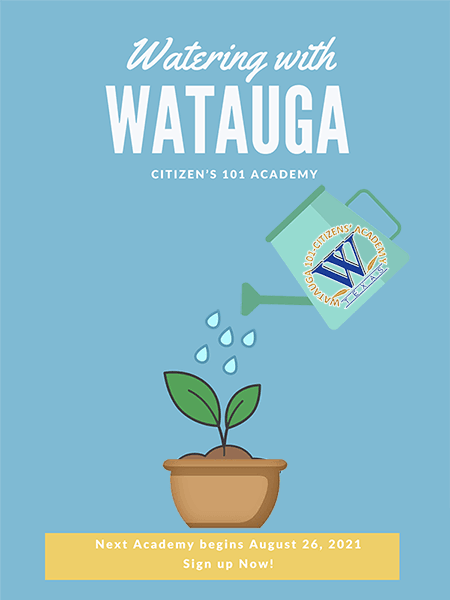 Watering with Watauga
