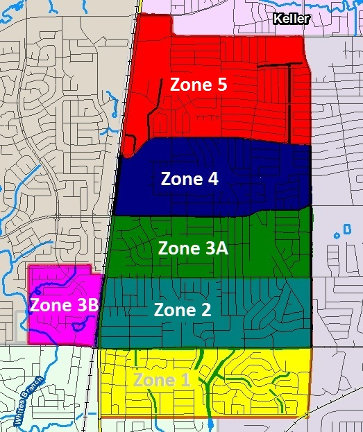 Street Sweeper Zones