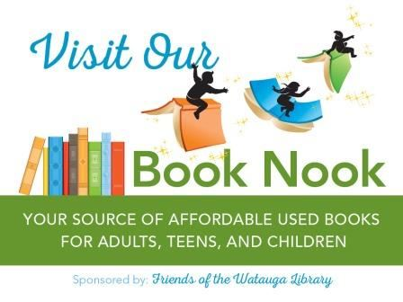 Visit the Friends Book Nook