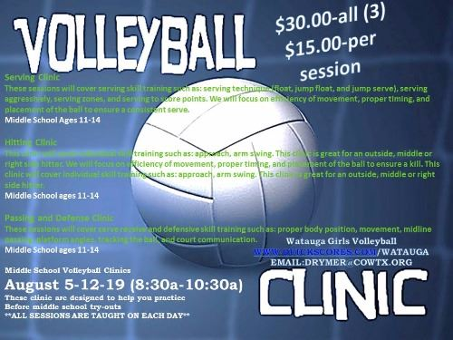 VOLLEYBALL CLINIC 2017 1