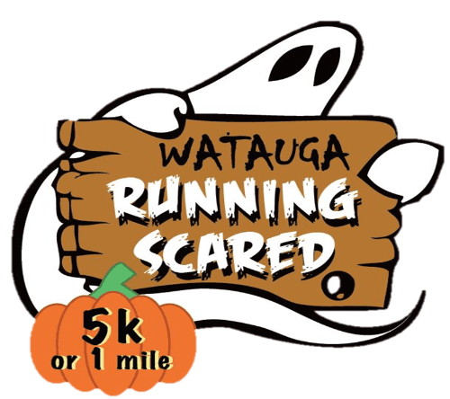 5k Running Scared Logo