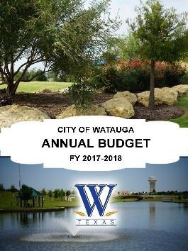 2017-2018 FISCAL YEAR BUDGET COVER