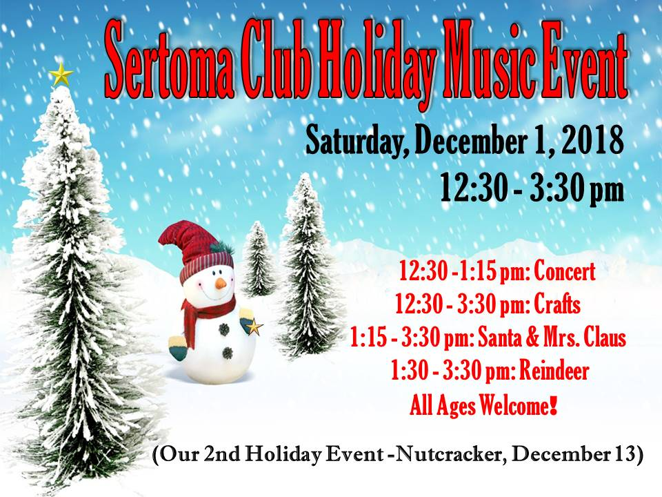 Setoma Club Holiday Music Event