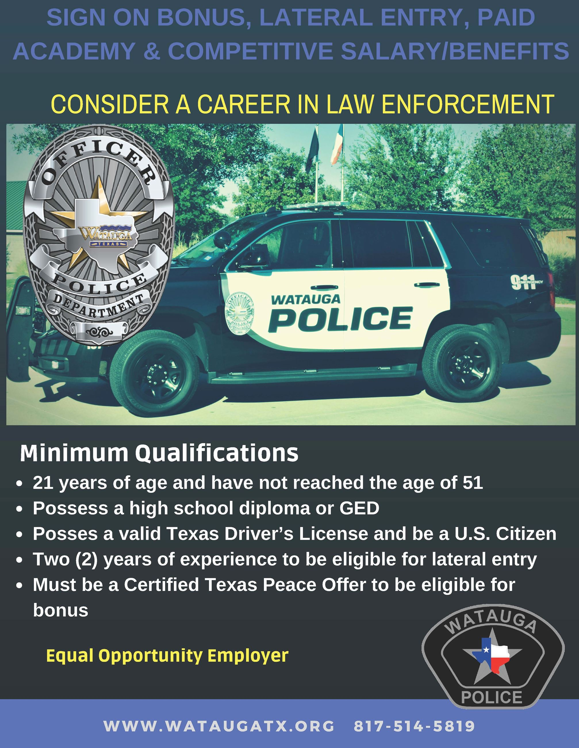 PD Recruitment Flyer 2018-19