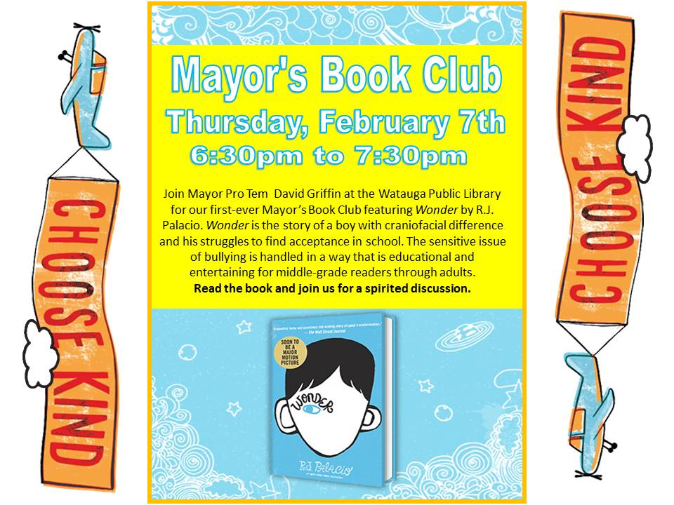 Mayor Book Club Feb 2019