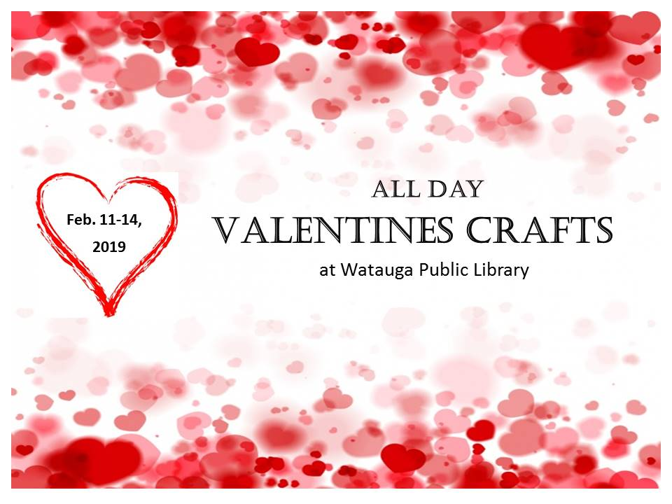 valentine craft flyer