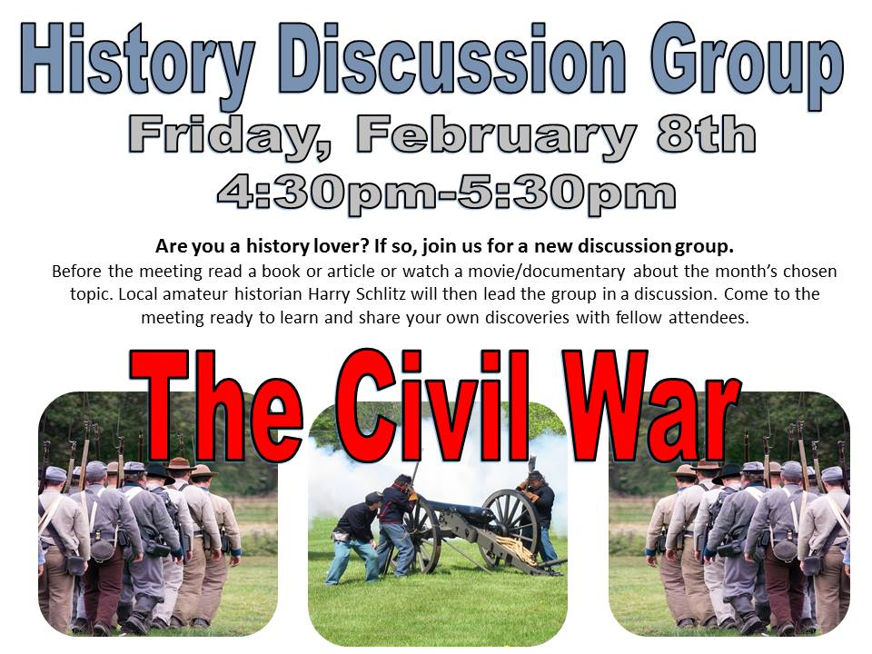 History Discussion Group Feb 2019