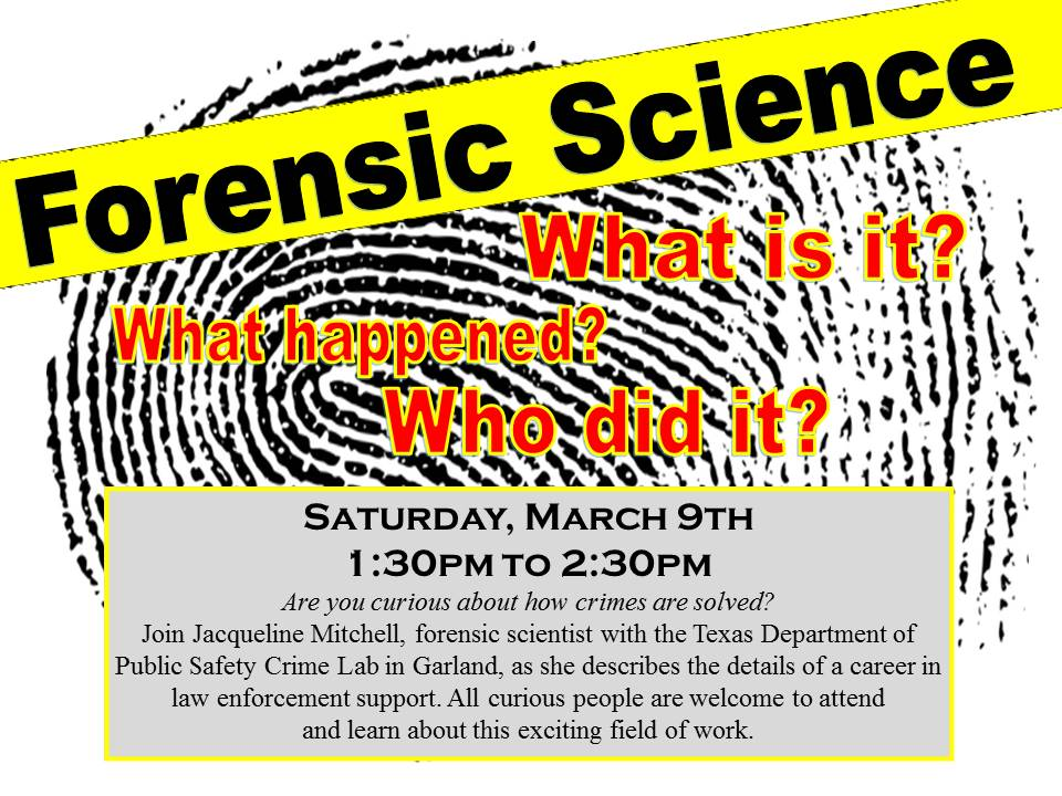 Forensic Science March 2019