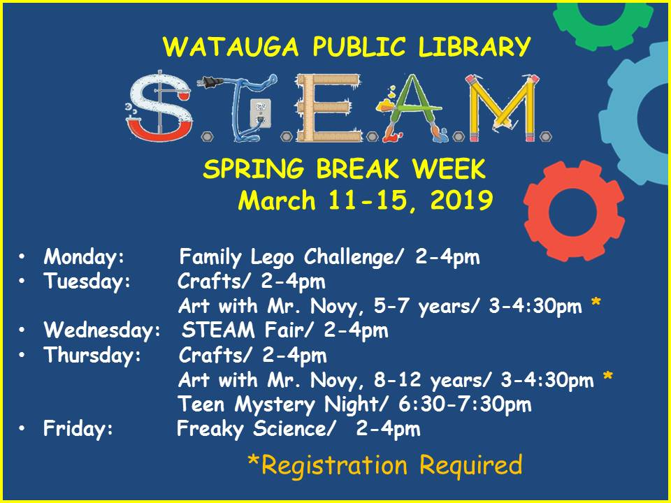 Spring Break Steam Fair