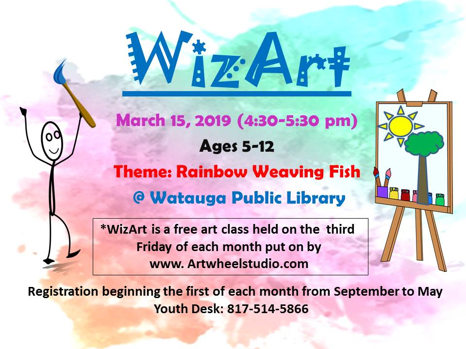 2019 WizArt Flyer March