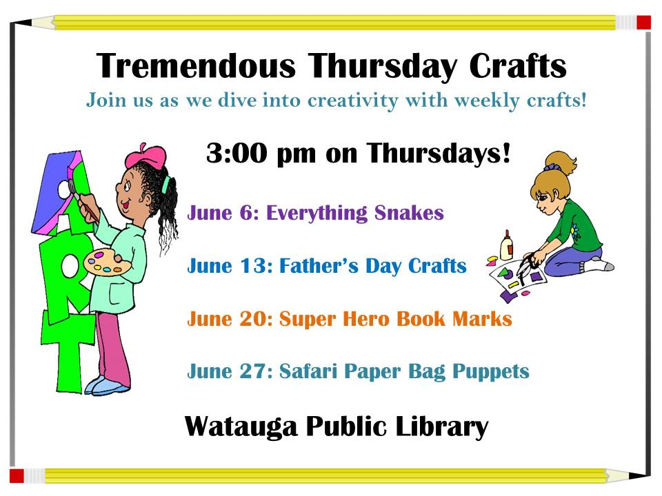 June SRC Crafts 2019