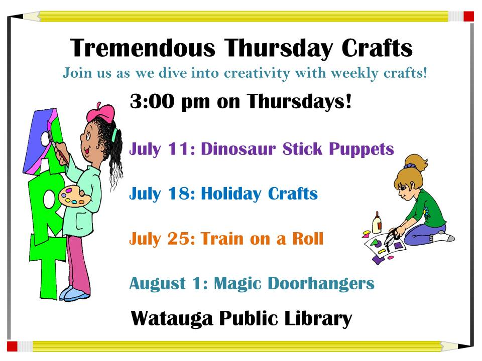 July SRC Crafts 2019