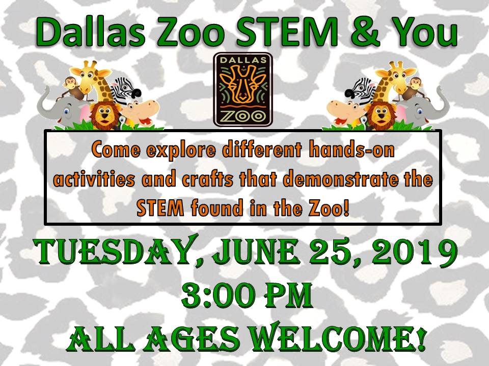Dallas Zoo STEM and You 2019