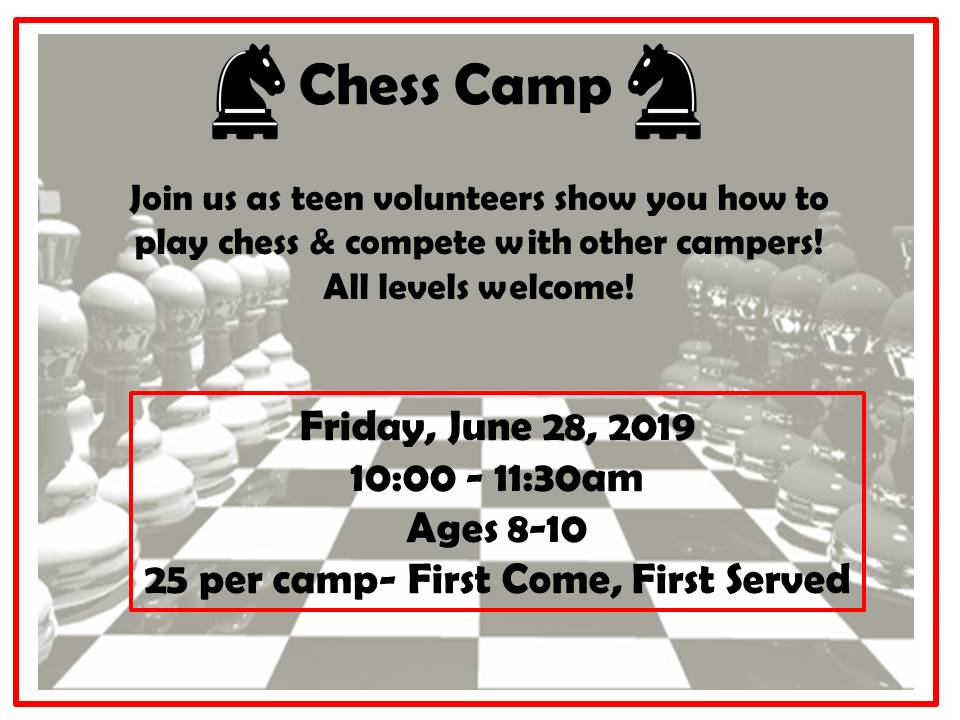 Chess Camp 2019