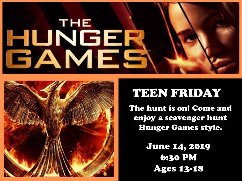 Teens Hunger Games 6-14-19