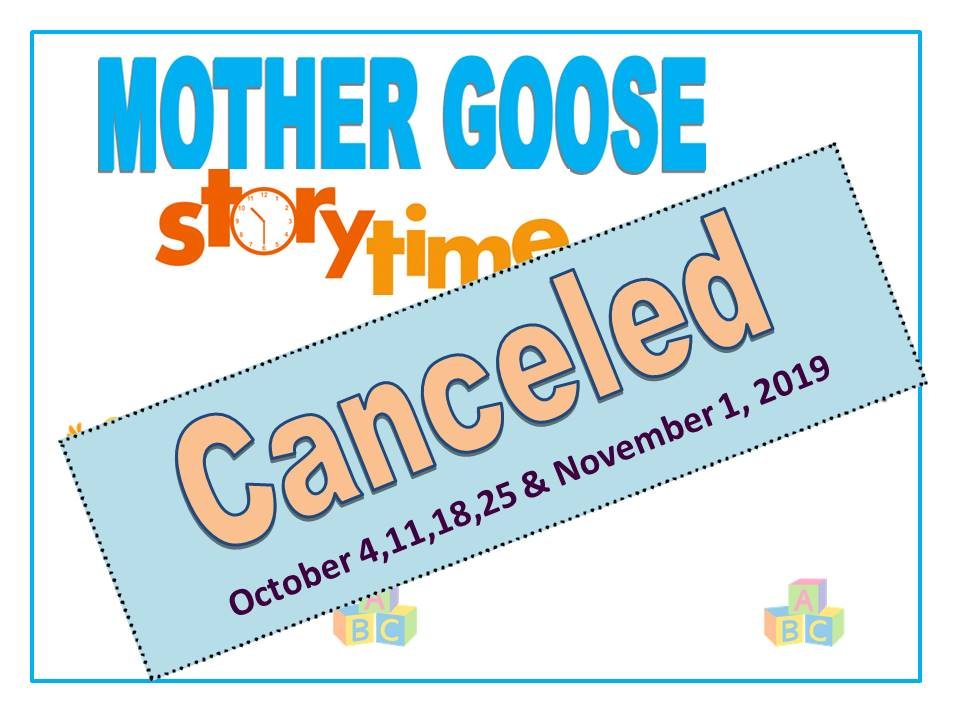 Mother Goose canceled