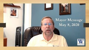 Mayor Message Opens in new window