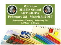 Watauga Middle School Art Show February 22-March 3 2017.jpg