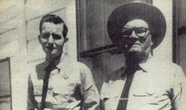 June Parker First Town Marshall and Deputy Tim Turner