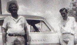 Town Marshall and Deputy with Watauga Police Car