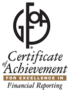 GFOA Certificate of Achievement